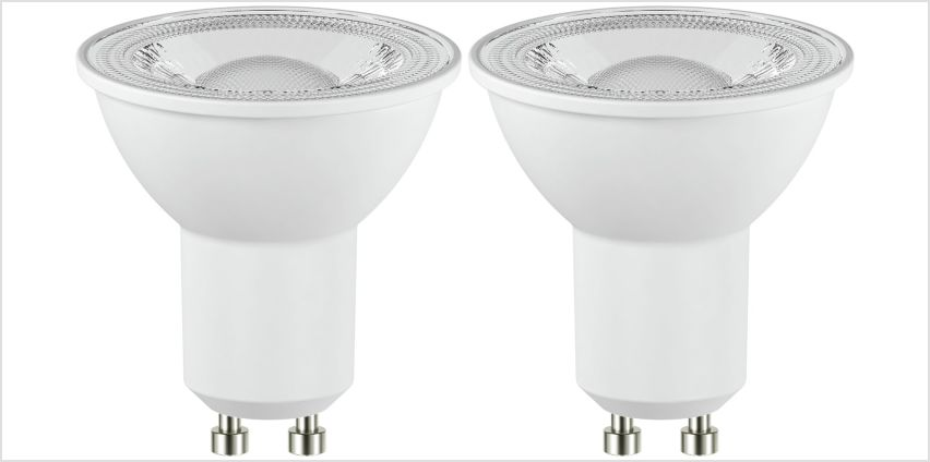 Argos Home 4W LED Dimmable GU10 Light Bulb - 2 Pack from Argos