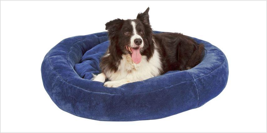 Jumbo Comfy Pet Donut Bed from Argos
