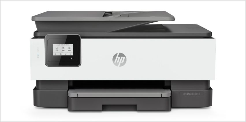 HP OfficeJet Pro 8014 Wireless Printer & 3 Month Instant Ink from Argos