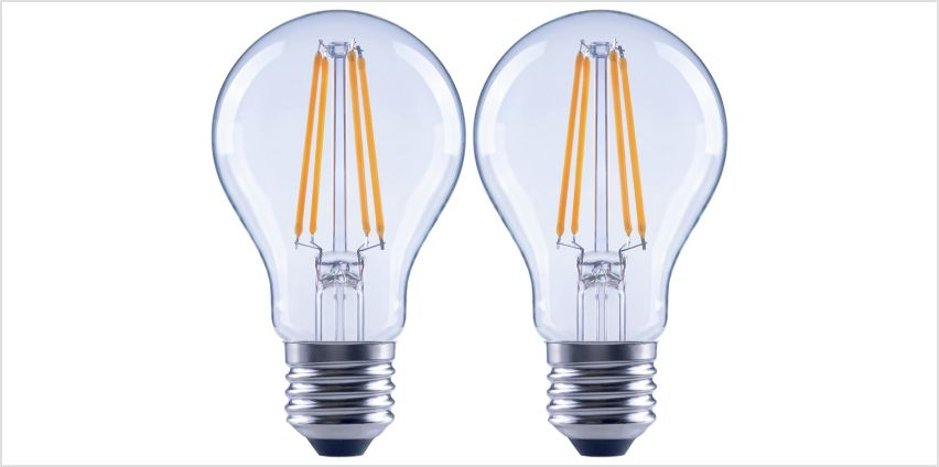 Argos Home 7W LED ES Dimmable Light Bulb - 2 Pack from Argos