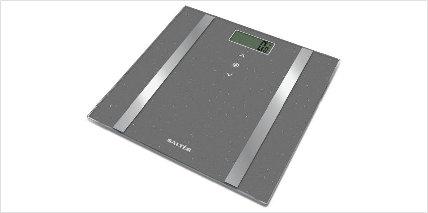 Salter Glitter Body Analyser Scale - Silver from Argos