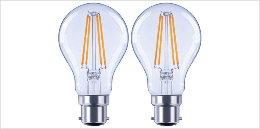 Argos Home 6W LED BC Light Bulb - 2 Pack from Argos