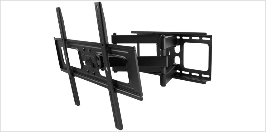 One For All 32 - 84 Inch Tilt And Swivel TV Wall Bracket from Argos
