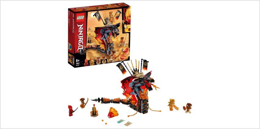 LEGO Ninjago Fire Fang Playset - 70674 from Argos