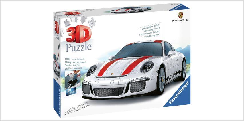 Porsche 3D Jigsaw Puzzle from Argos