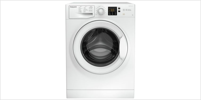 Hotpoint NSWM943CW 9KG 1400 Spin Washing Machine - White from Argos