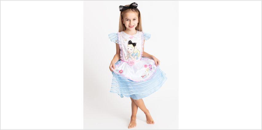 Alice in Wonderland Blue Costume from Argos