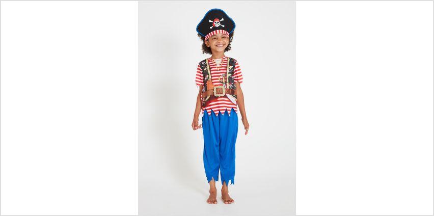 Multicoloured Pirate Costume from Argos