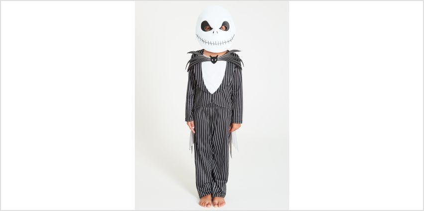 Disney Jack Skellington Black Costume & Mask from Argos