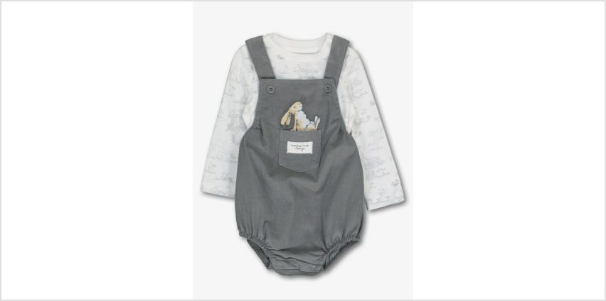 Guess How Much I Love You Grey Bibshorts Set from Argos