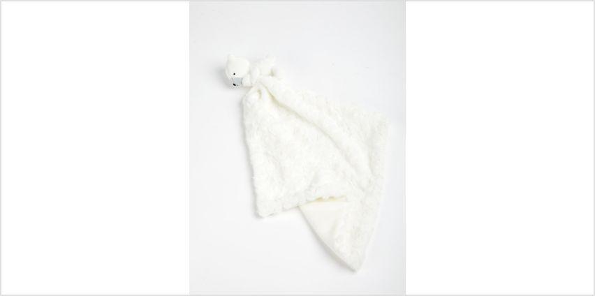 Cream Bear Comforter - One Size from Argos