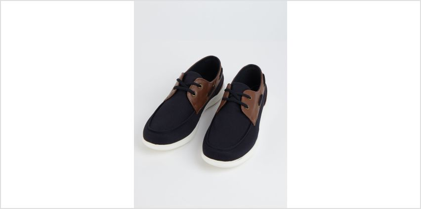 Sole Comfort Stone Boat Shoes from Argos