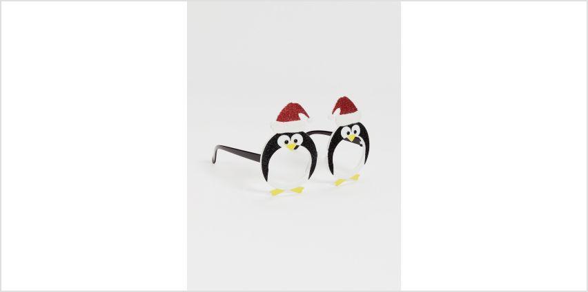 Christmas Novelty Penguin Glasses - One Size from Argos