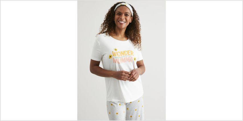 Cream 'Wonder Mumma' Pyjamas from Argos