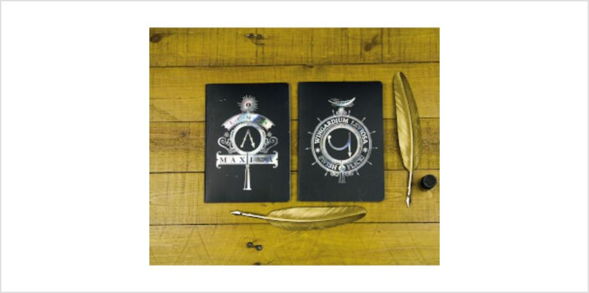Harry Potter Notebooks (Set of 2) from I Want One Of Those