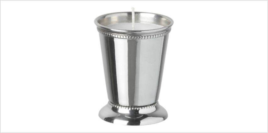 Parlane Steel Votive - Silver (9 x 7cm) from I Want One Of Those