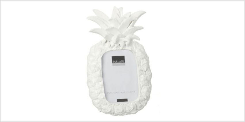 Parlane Pineapple Frame - White (17 x 10cm) from I Want One Of Those