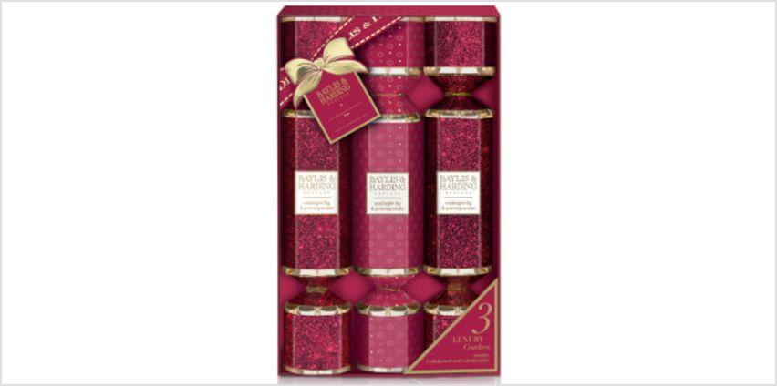 Baylis & Harding Midnight Fig and Pomegranate 3 Cracker Set from I Want One Of Those