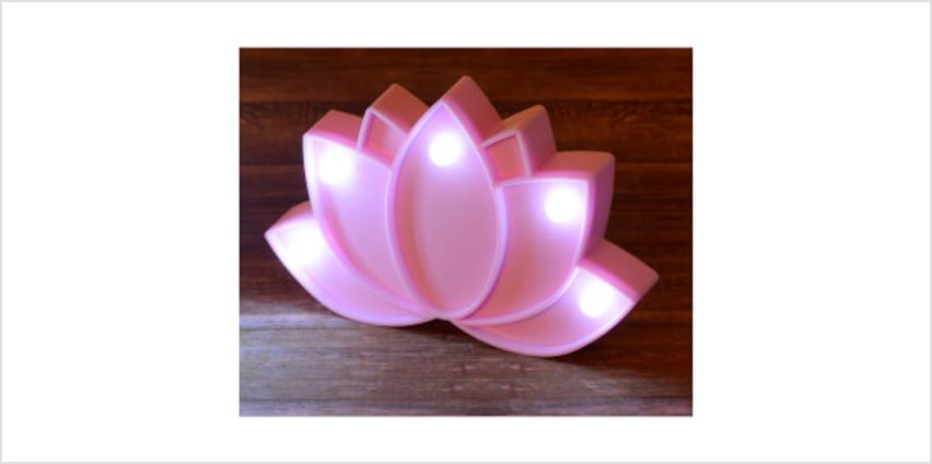Lotus Mini Marquee Light from I Want One Of Those