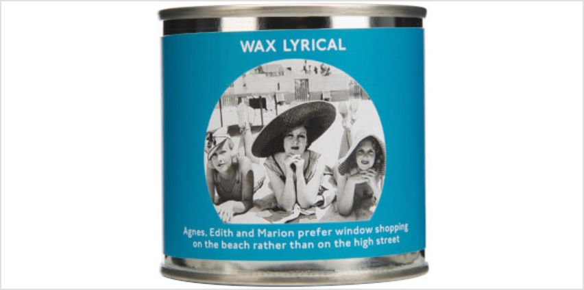 Wax Lyrical Enter-tin-ment Shopping Trip Wax Filled Candle from I Want One Of Those