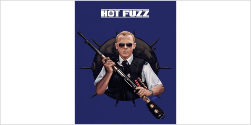 Hot Fuzz Ready For Action Limited Edition Art Print from I Want One Of Those