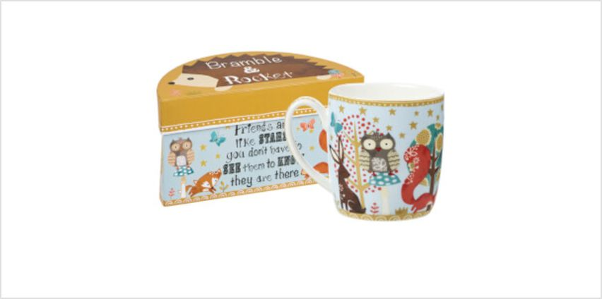 Bramble and Rocket Friends Are Like Stars Boxed Mug from I Want One Of Those