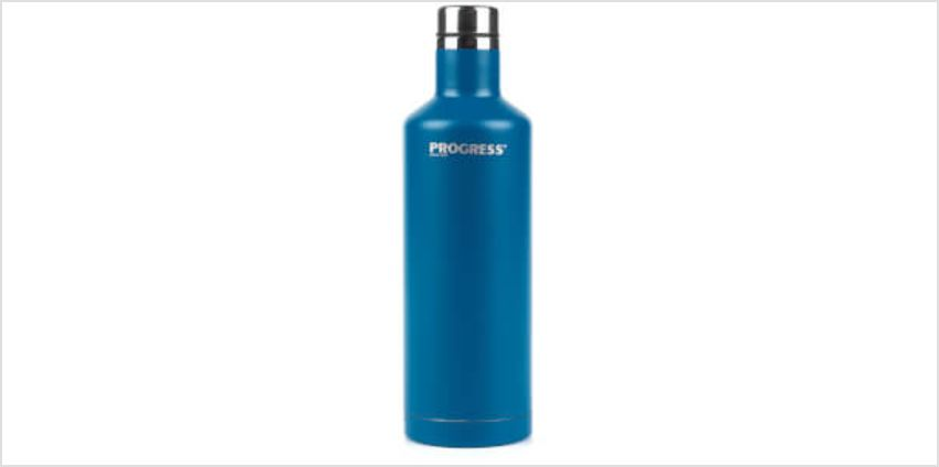Progress Thermal Bottle 500ml - Blue from I Want One Of Those