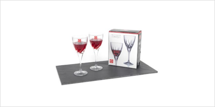 RCR Twist Wine Glasses (Set of 2) from I Want One Of Those