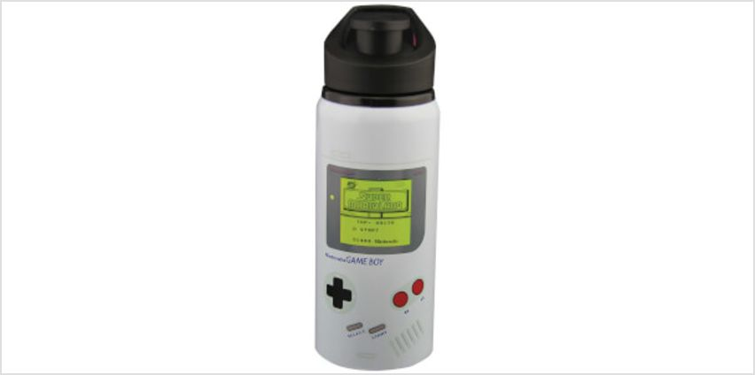 Game Boy Water Bottle from I Want One Of Those