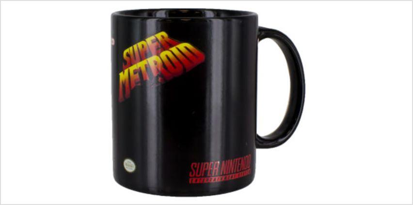 Super Metroid Heat Change Mug from I Want One Of Those