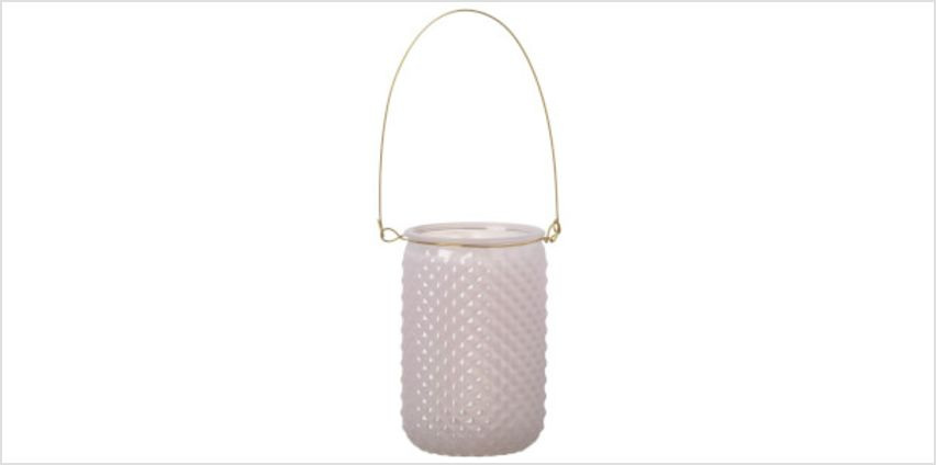 Parlane Glass Pink Bella Lantern from I Want One Of Those