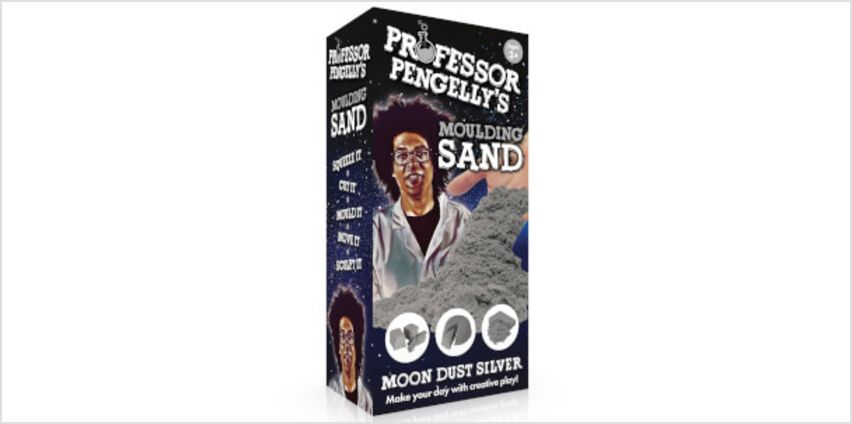 Professor Pengelleys Moulding Sand - Moon Dust Silver from I Want One Of Those