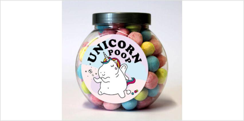 Unicorn Poop Bon Bon Jar from I Want One Of Those