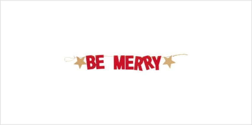 Sass & Belle Be Merry Bunting from I Want One Of Those