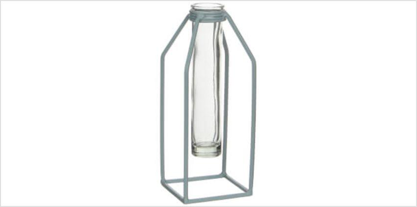 Dhaka Single Flower Vase - Green from I Want One Of Those