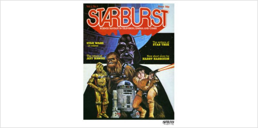 Star Wars Issue 1 - 1978 Fine Art Print from I Want One Of Those
