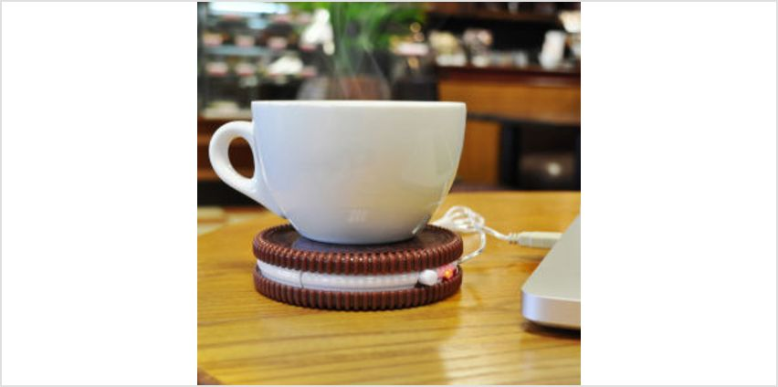 Hot Cookie USB Cup Warmer from I Want One Of Those