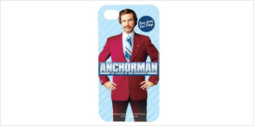Anchorman Ron Burgundy iPhone 4/4S Case from I Want One Of Those