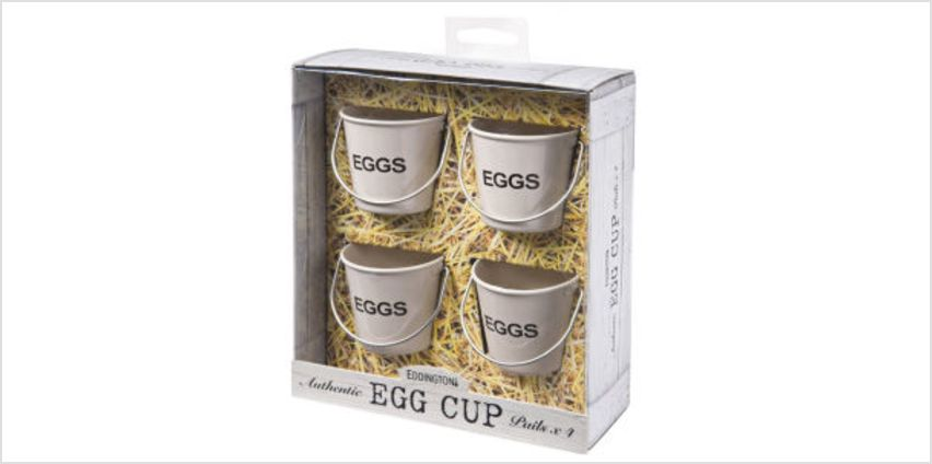 Eddingtons Egg Cup Buckets - Cream from I Want One Of Those