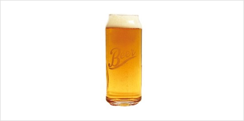 Beer Can Glass from I Want One Of Those