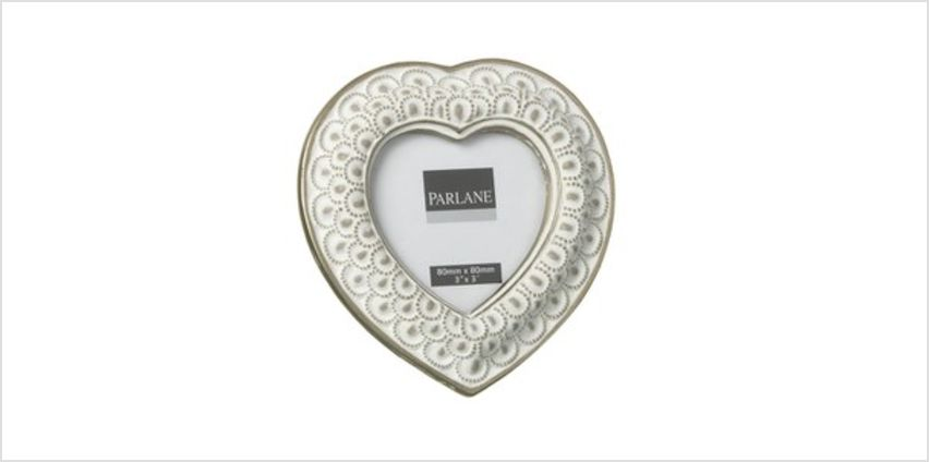 Parlane Heart Frame - White (80x80mm) from I Want One Of Those