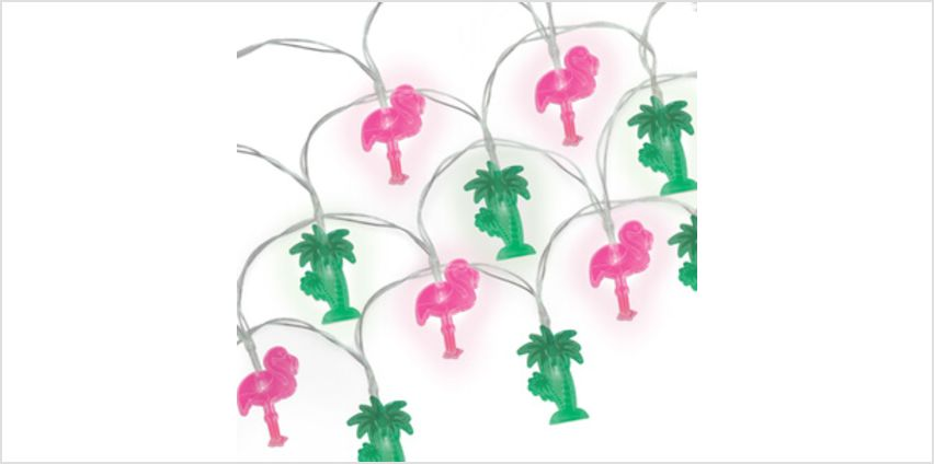 Tropical String Lights (Battery Powered) from I Want One Of Those