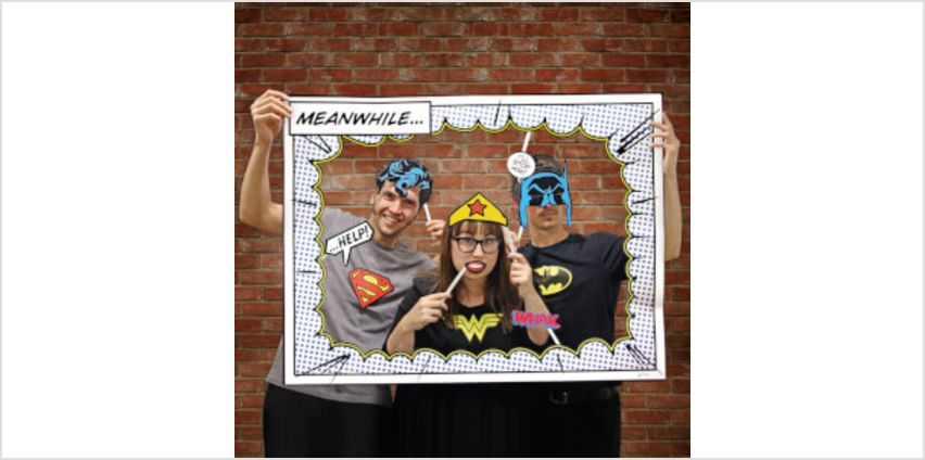 DC Comics Photobooth from I Want One Of Those