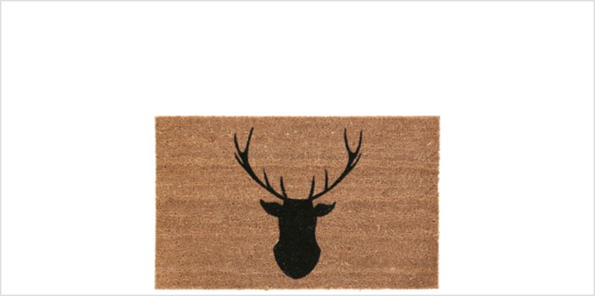 Deer Doormat - Natural from I Want One Of Those