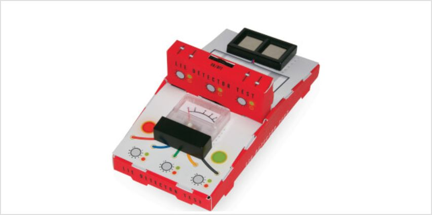 Build Your Own Lie Detector from I Want One Of Those