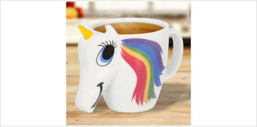 Colour Changing Unicorn Mug - White from I Want One Of Those