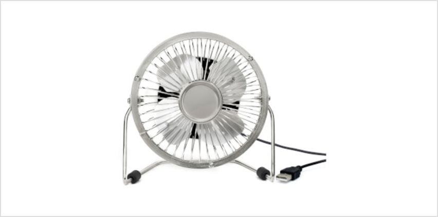 USB Fan - Silver from I Want One Of Those
