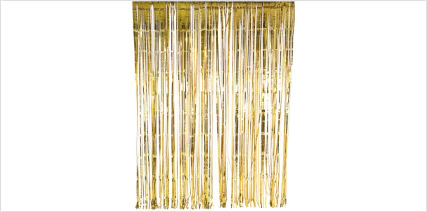 Glitterati Foil Curtain - Gold from I Want One Of Those
