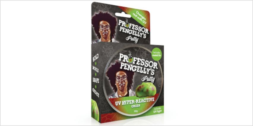Professor Pengelly's Putty - U.V Hyper Reactive Green from I Want One Of Those