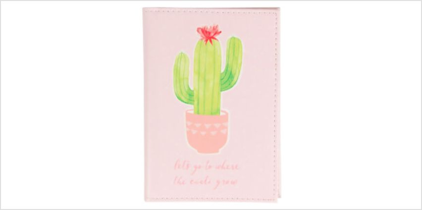 Sass & Belle Pastel Cactus Passport Holder from I Want One Of Those